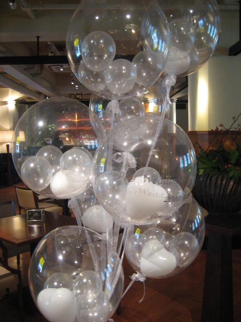 ウェディング お祝 balloons 発表会 girl (2)