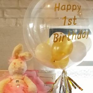 1歳お誕生日バルーン